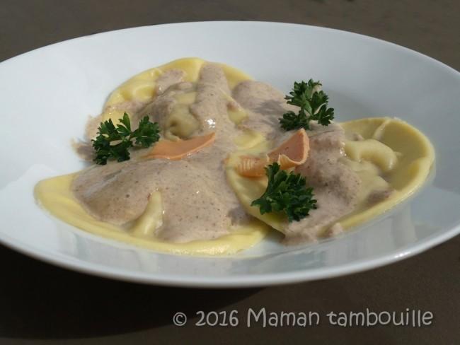 ravioles foie gras cepes30