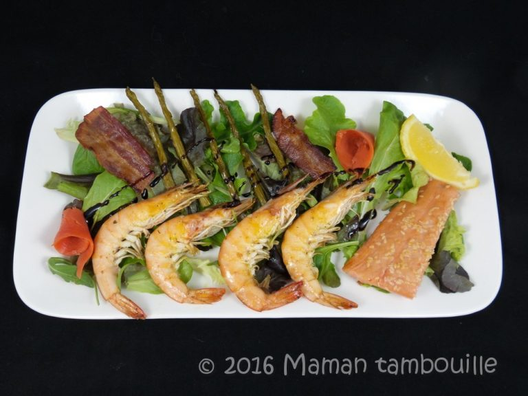 Read more about the article Salade terre et mer