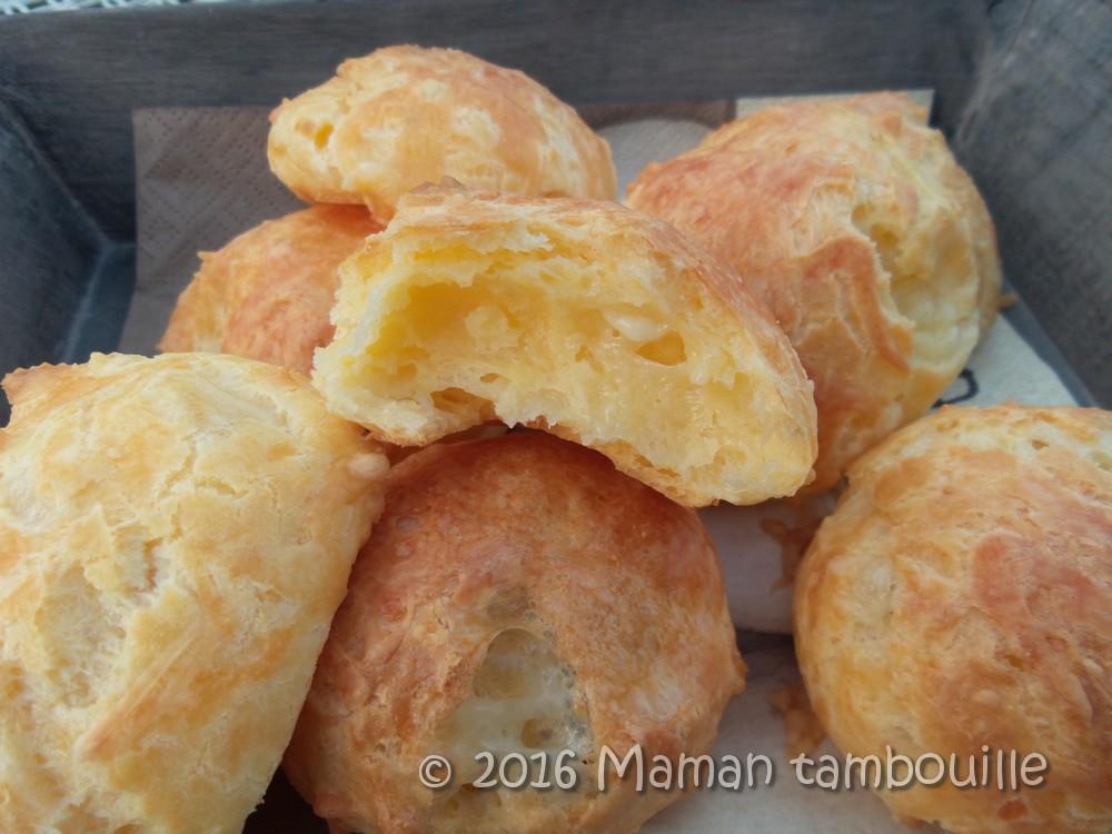 Read more about the article Gougères au morbier sans gluten