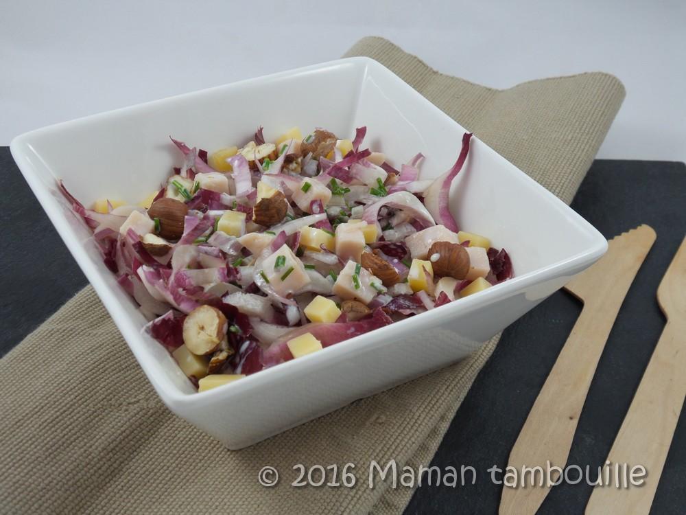 Read more about the article Salade d'endive au beaufort et noisettes