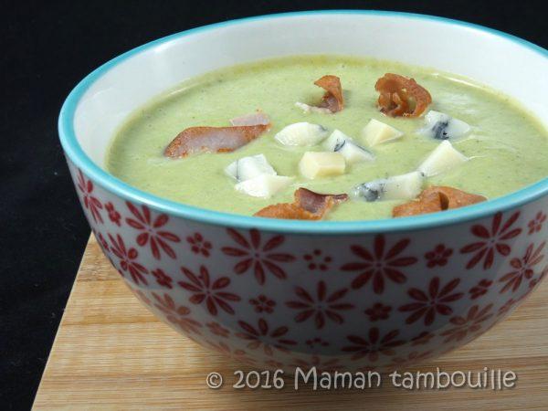 Crème de brocoli au morbier