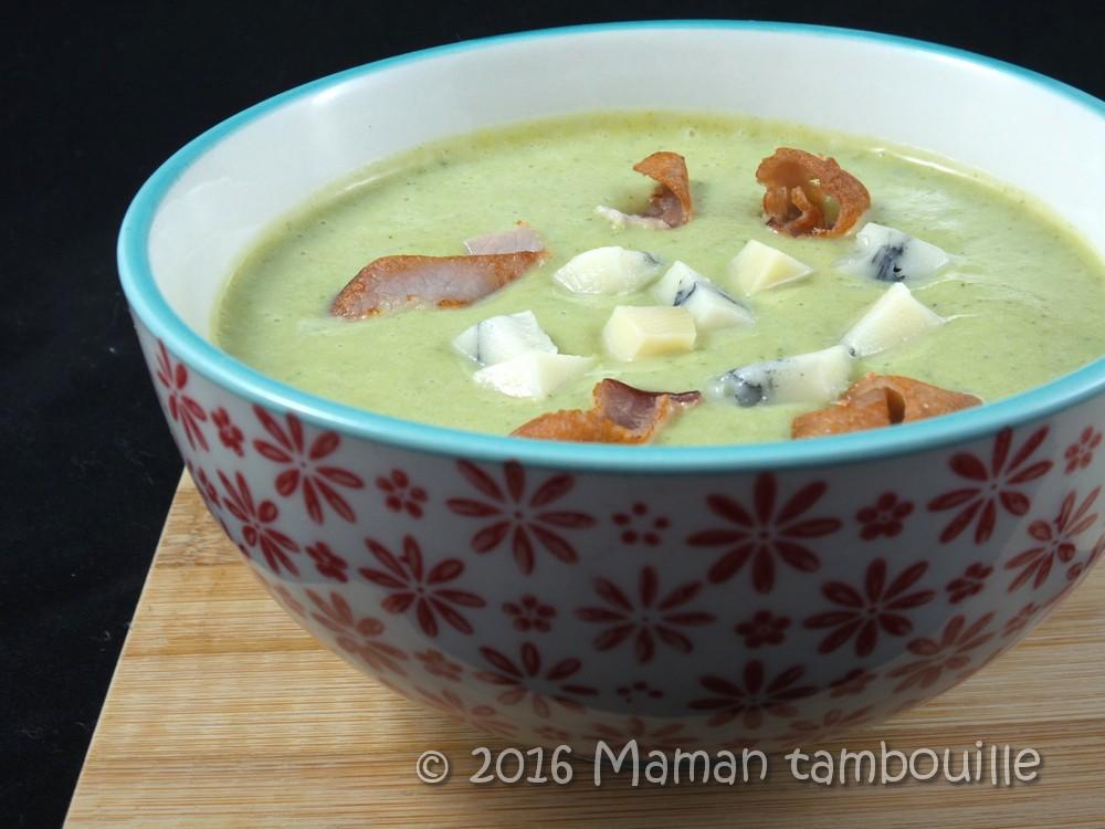 Read more about the article Crème de brocoli au morbier