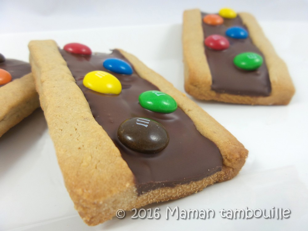 Biscuits aux m&m's maison