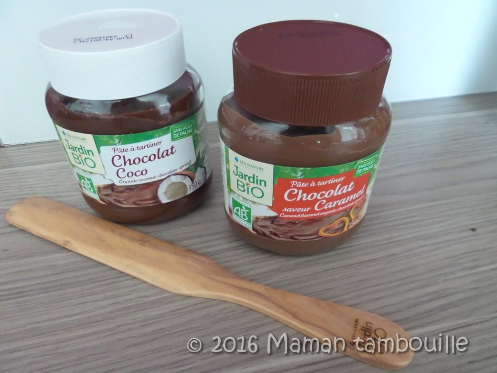 Les nouvelles pâtes à tartiner Jardin Bio {partenariat}