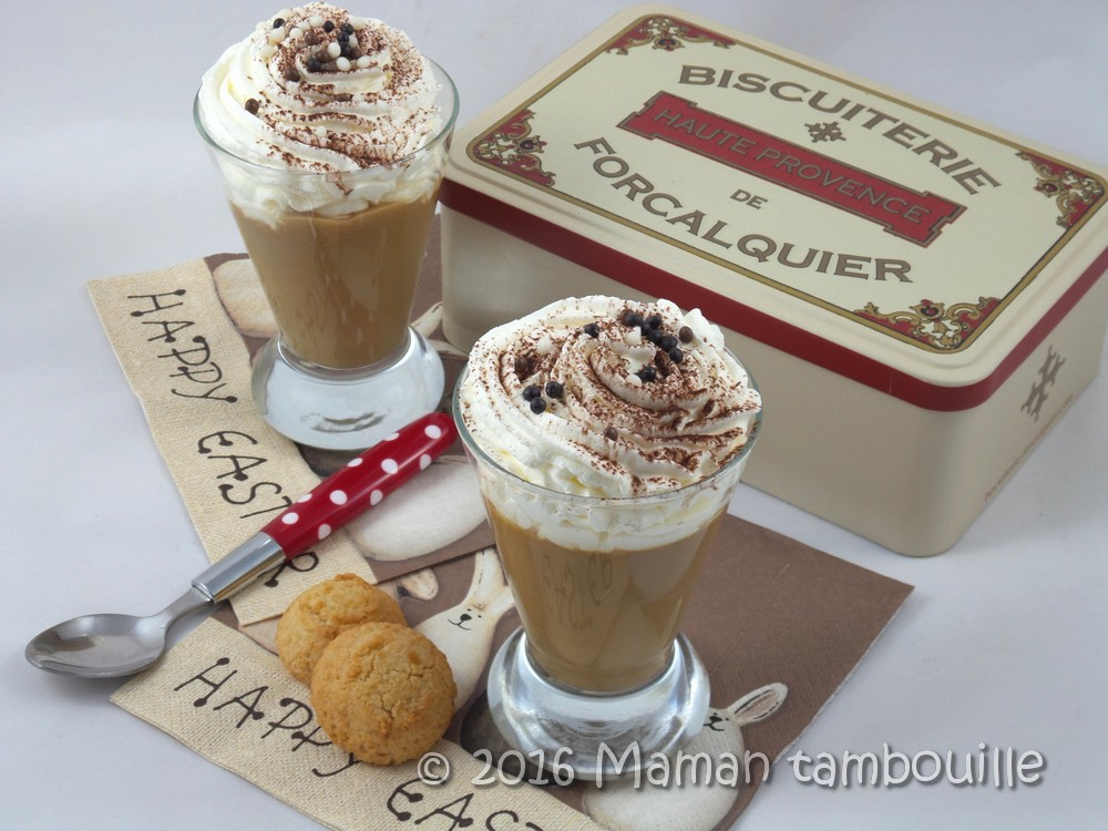You are currently viewing Crème façon liégeois au café