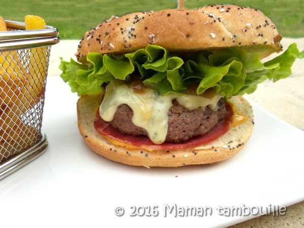 Burger à la fourme d'ambert