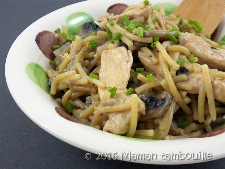 Read more about the article One pot pasta au poulet gorgonzola