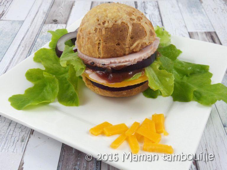 Pao de queijo burger {sans gluten}