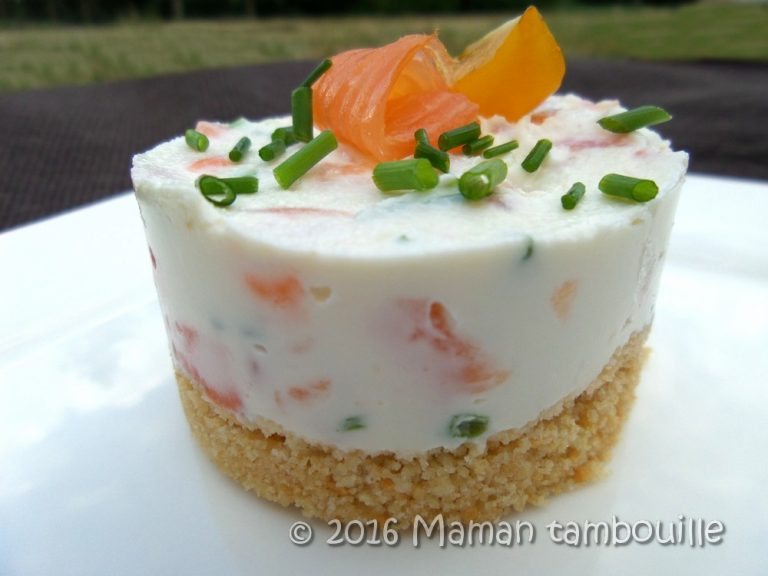Read more about the article Cheesecake au saumon fumé