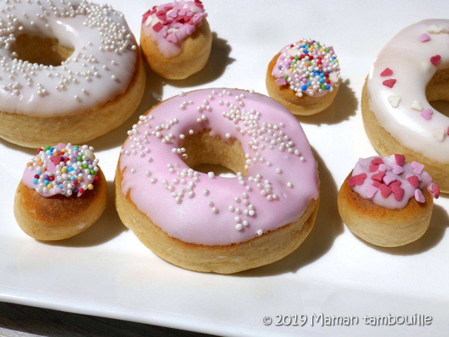 Donuts au four sans friture