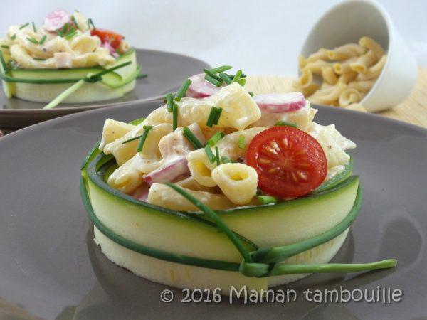 Salade de pâtes au beaufort