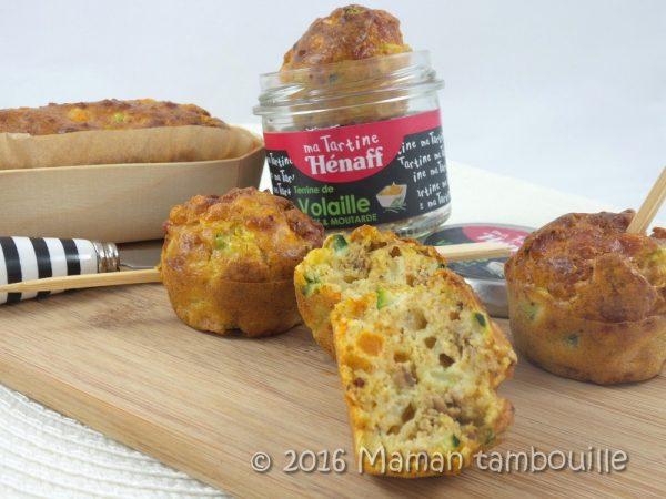 Cake aux légumes et terrine Henaff