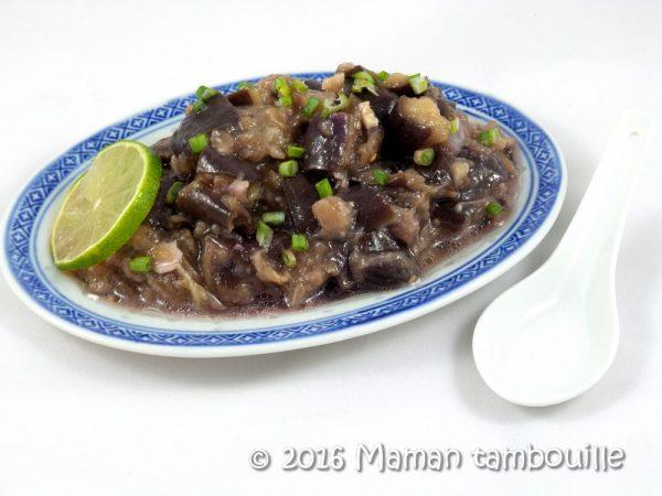 aubergines vapeur au gingembre07