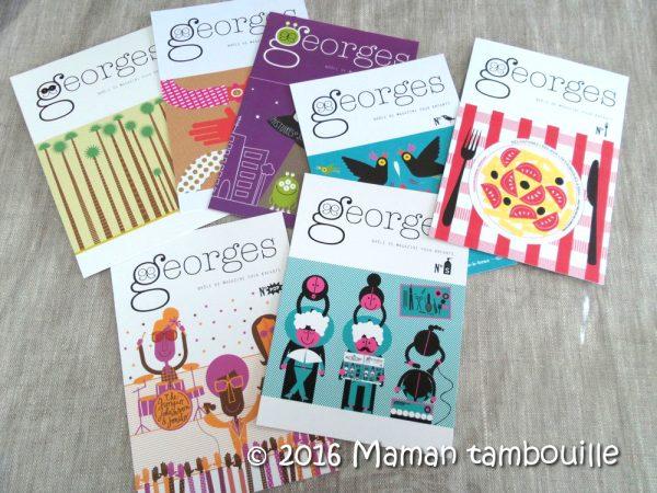 Magazine Georges {partenariat}