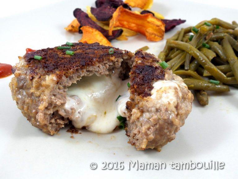 Read more about the article Steak haché cœur mozzarella