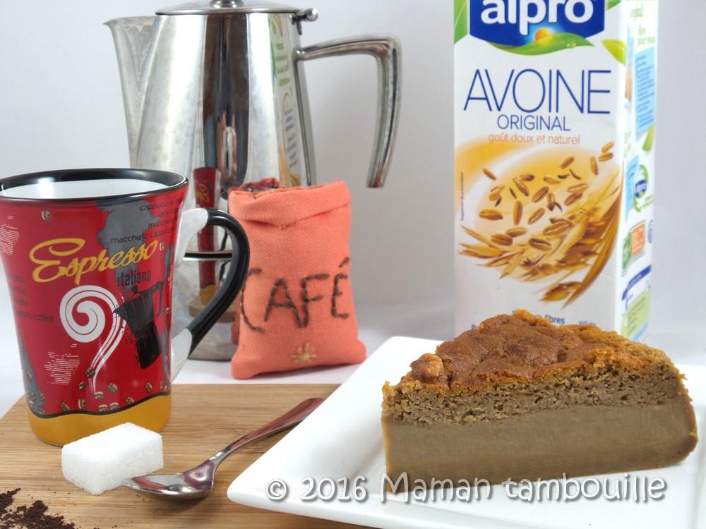You are currently viewing Gâteau magique au café {sans lactose}