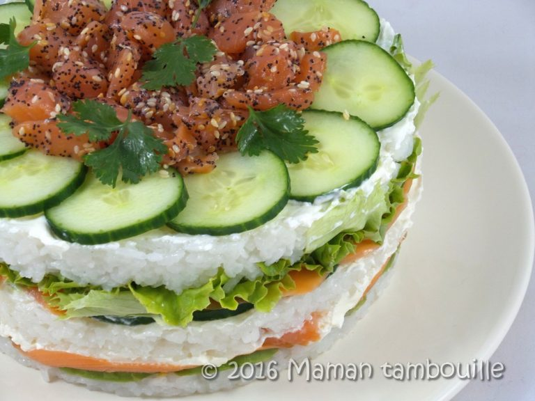 Read more about the article Sushi cake