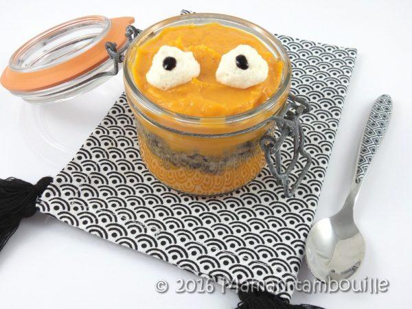 Petit monstre de patate douce au boeuf