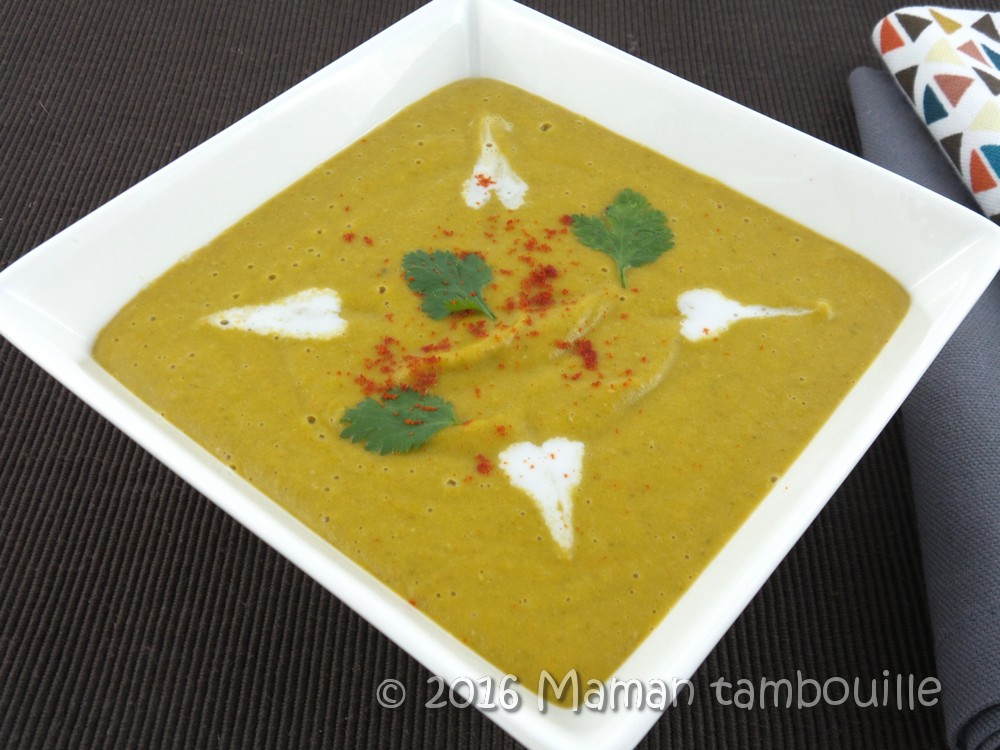 You are currently viewing Soupe de lentilles corail et lait de coco