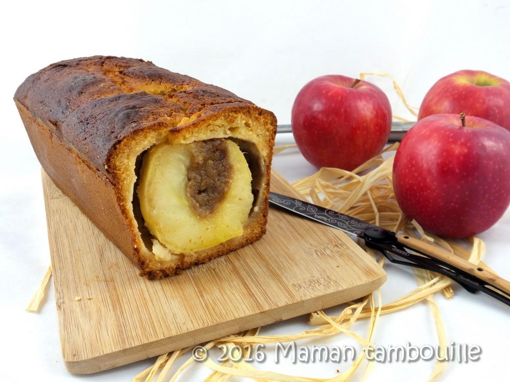 Gâteau aux 3 pommes entières