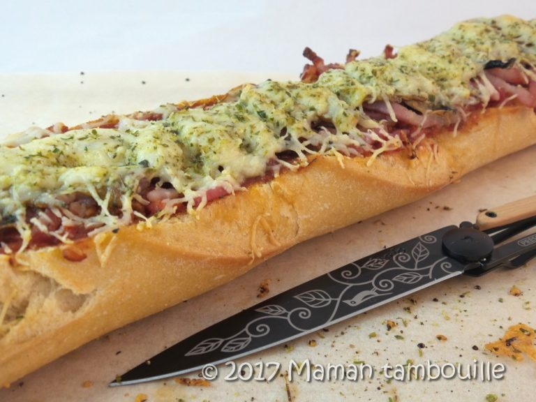 Read more about the article Baguette pizza