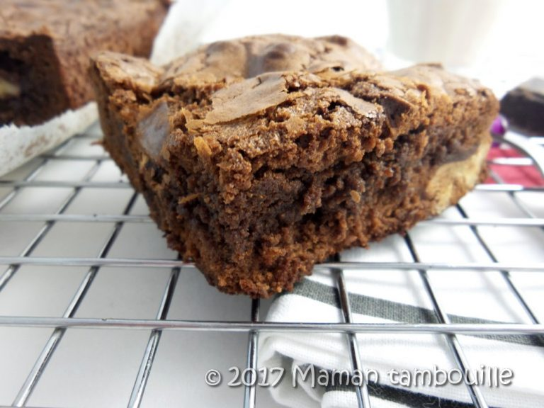 Brownie à la farine de teff {sans gluten}