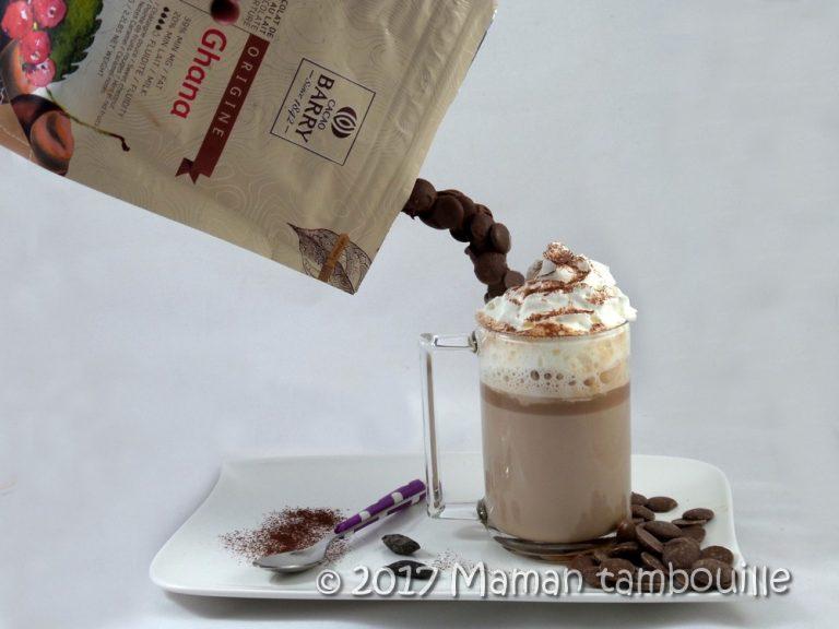 Chocolat chaud tonka {les défis gourmands de Cuisine Addict}