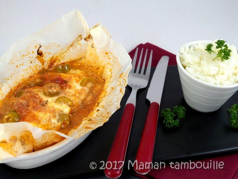 Read more about the article Papillote de poulet pizzaiolo