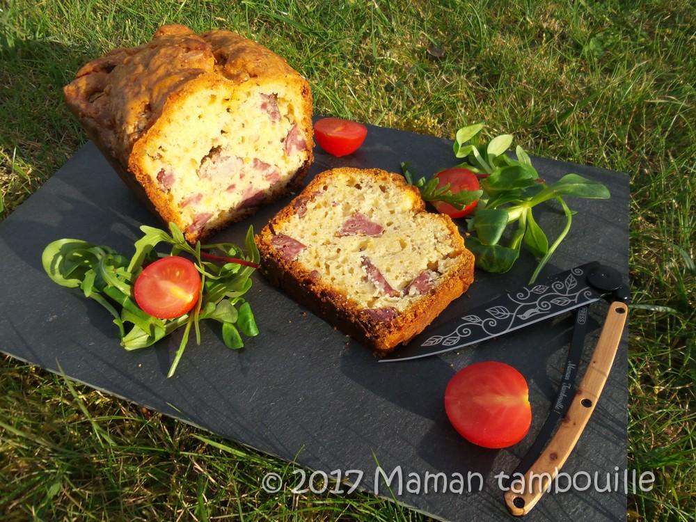 Cake aux diots de savoie {test Cake Apéro de Gruau d'Or}