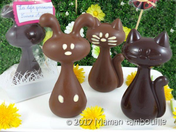 Chocolats de Pâques {les défis gourmands de Cuisine Addict}