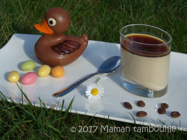 Read more about the article Panna cotta au café