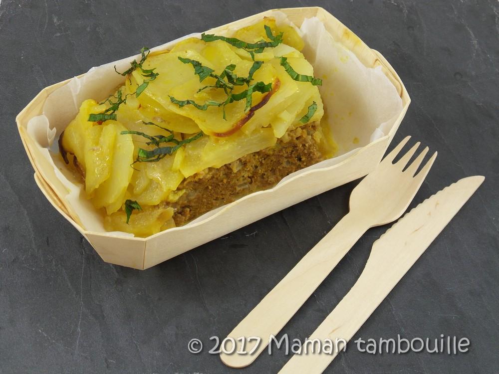 Boeuf épicé aux pommes de terre