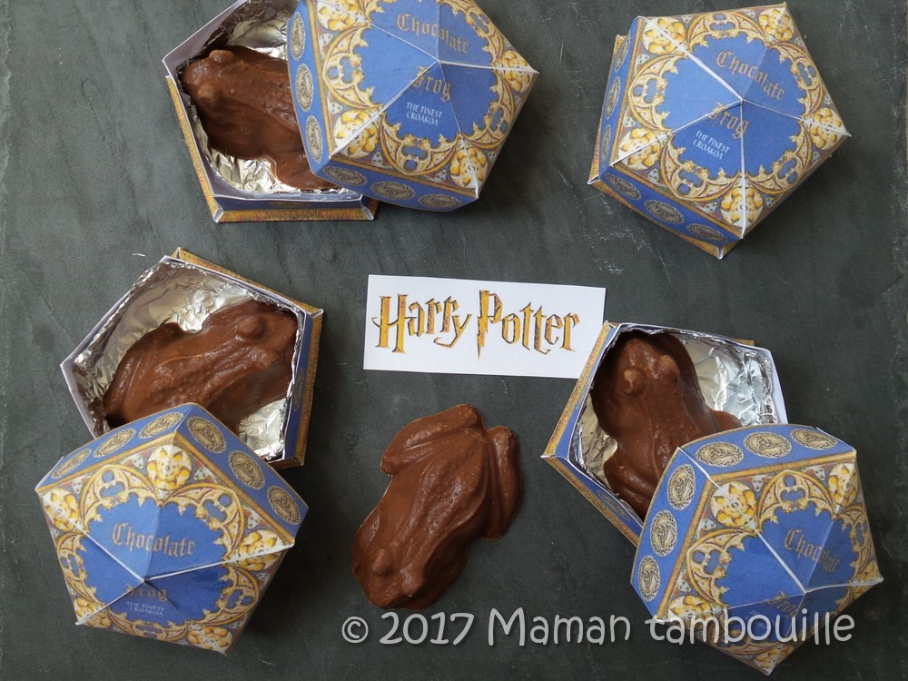 Chocogrenouilles {Harry Potter}