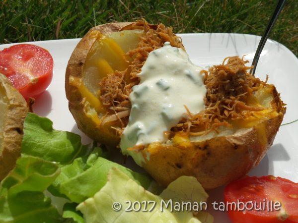 Patates au pork effiloché