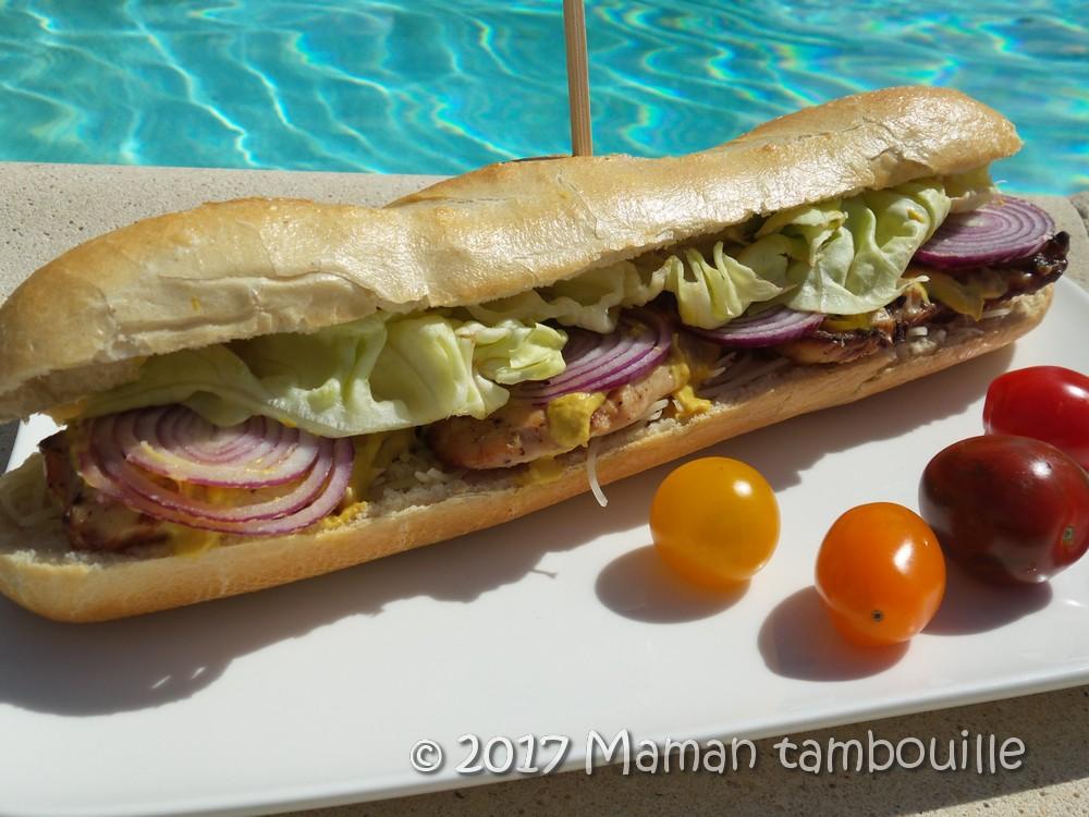 Sandwich au poulet