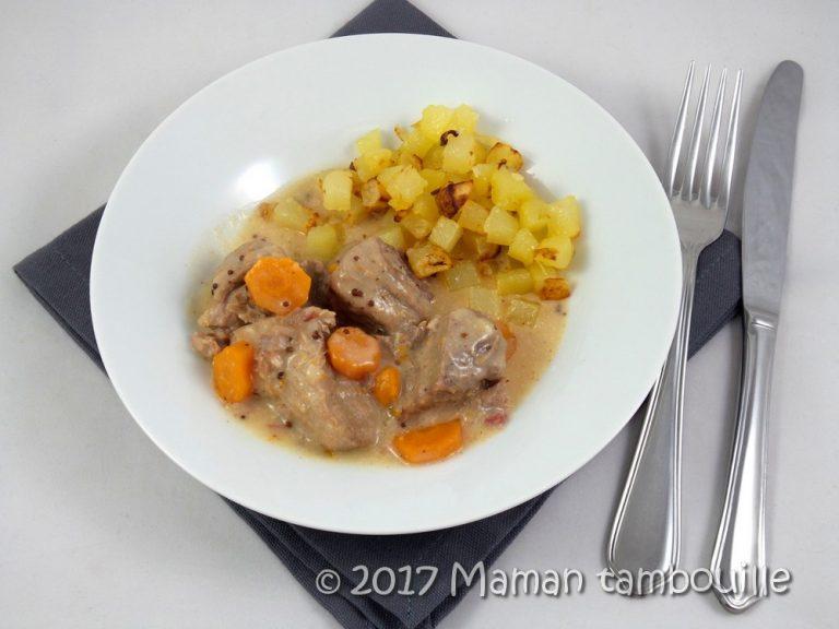 Read more about the article Sauté de porc à la moutarde à l'ancienne