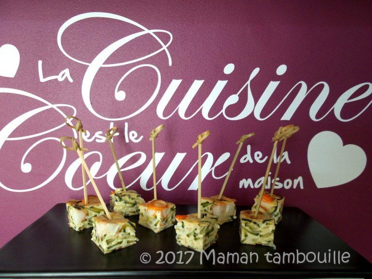 Read more about the article Quiche courgette et surimi