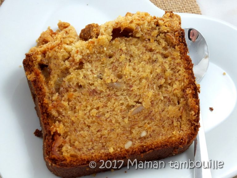 Read more about the article Cake crumble à la banane