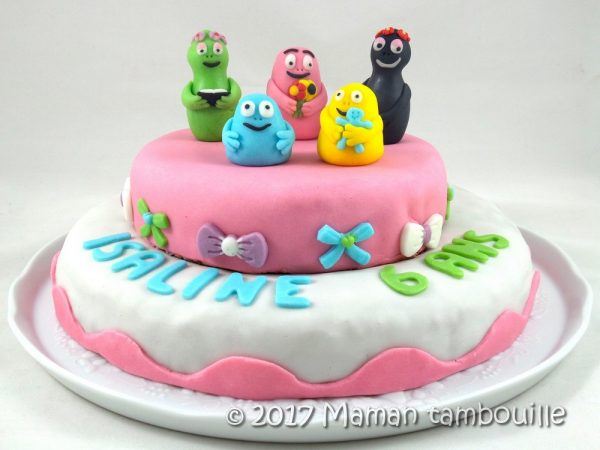 Gateau Barbapapa