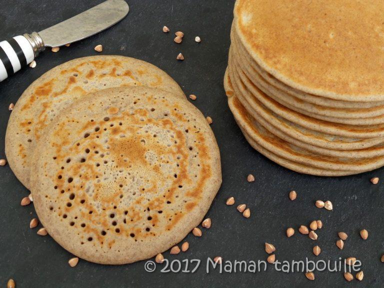 Pancake de sarrasin