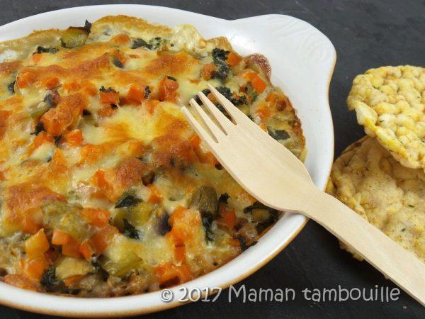 Cassolette de légumes et sarrasin