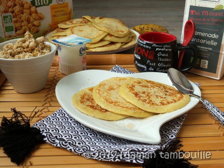Read more about the article Pancakes à la banane
