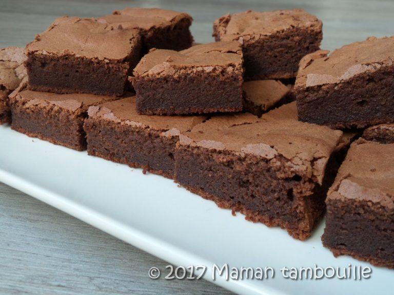 Read more about the article Fondant au chocolat sans beurre