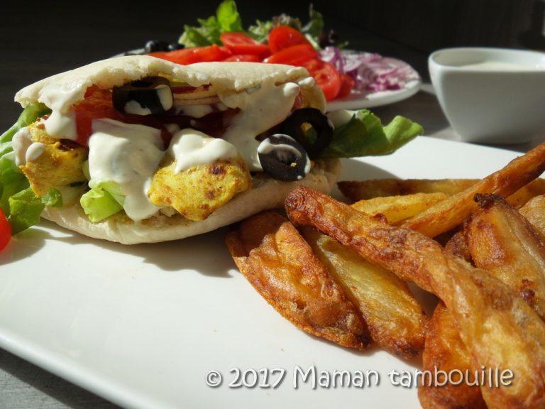 Kebab au poulet du mercredi