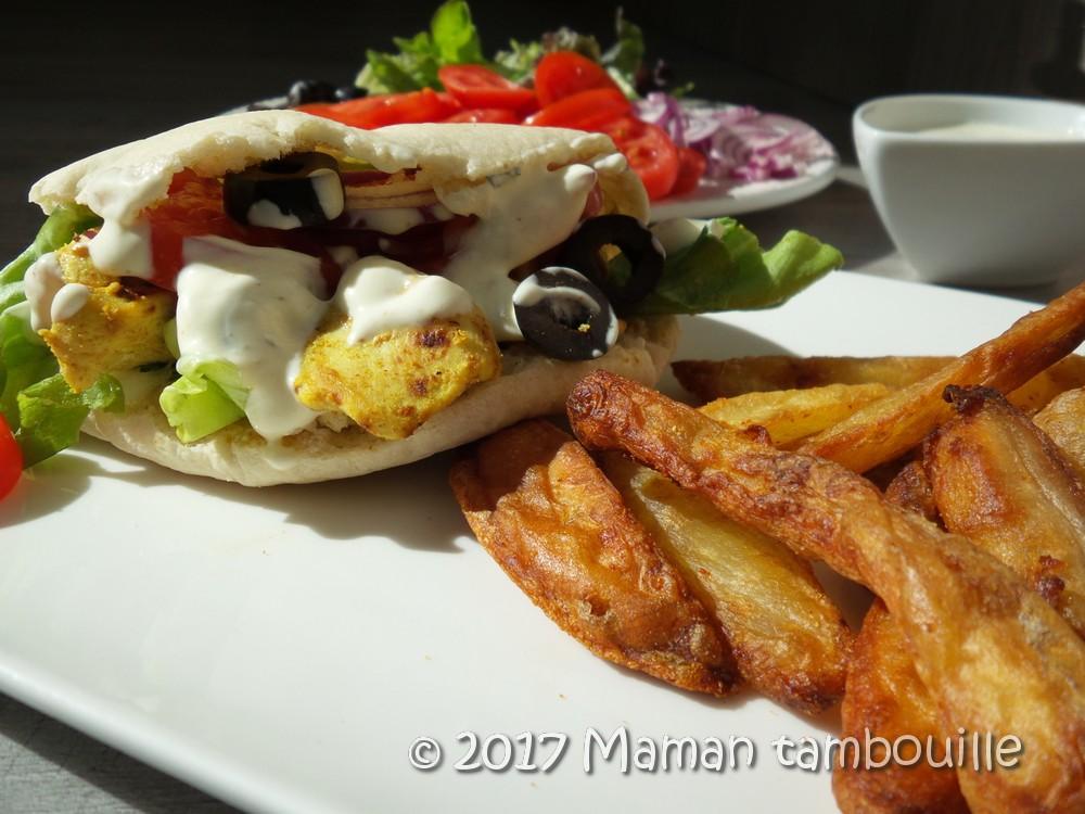 Read more about the article Kebab au poulet du mercredi