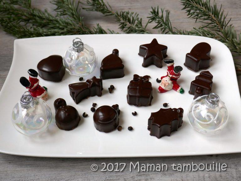 Read more about the article Chocolats noirs ganache aux baies de timut {partenariat}