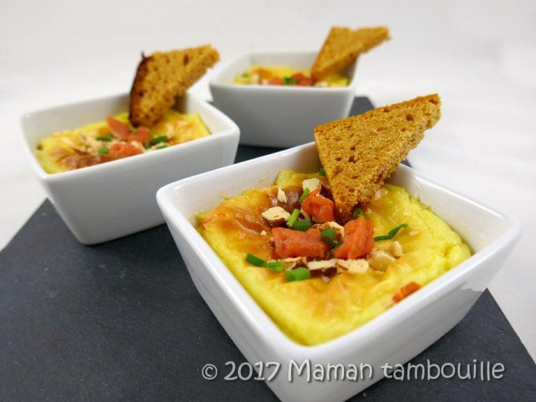 Read more about the article Mousse de pomme de terre au saumon fumé