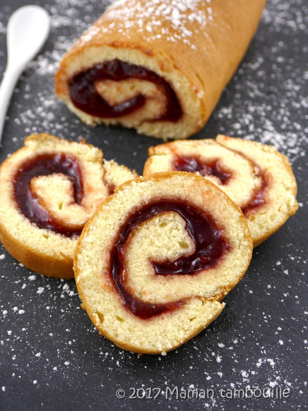 You are currently viewing Gâteau roulé à la fraise