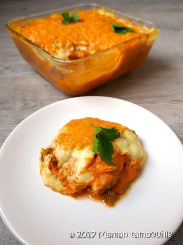Read more about the article Parmentier de patate douce