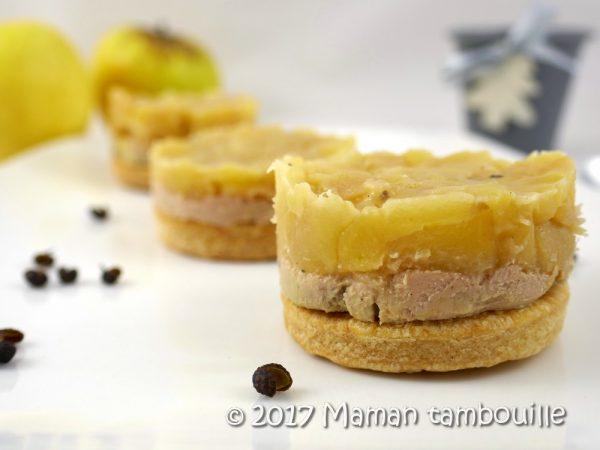 Tatin de foie gras au poivre de timut